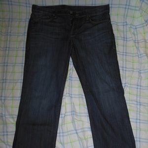 William Rast Straight Luke Wash Jeans 38